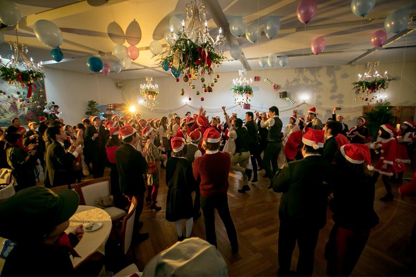 クリスマスパーティ サンタカンパニー メイン01