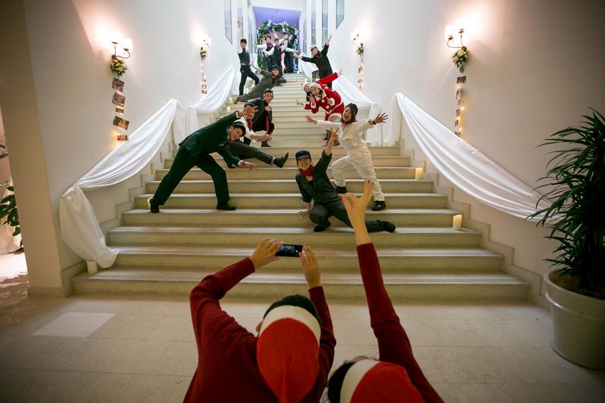 クリスマスパーティ サンタカンパニー メイン05