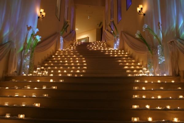キャンドルイメージ|ジャルダンドゥボヌールの大階段