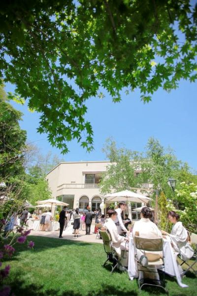 ジャルダンドゥボヌール|ガーデン