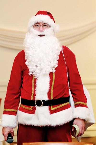サンタクロースが披露宴に