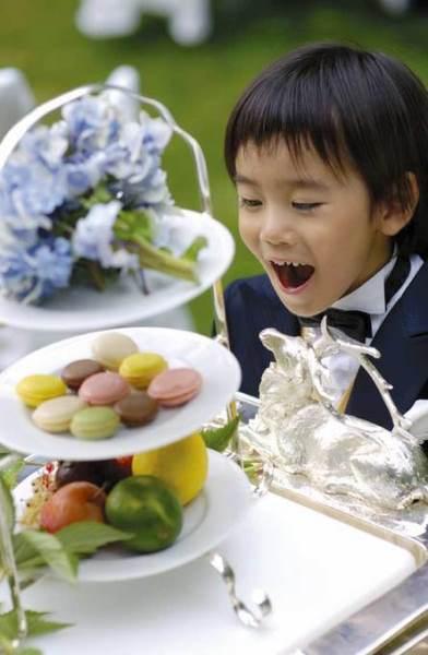 我が子と一緒の結婚式