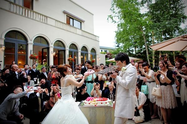 型にとらわれない、ジャルダンドゥボヌールの結婚式