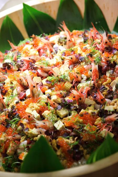 料理|海鮮生ちらし|ジャルダン・ドゥ・ボヌール