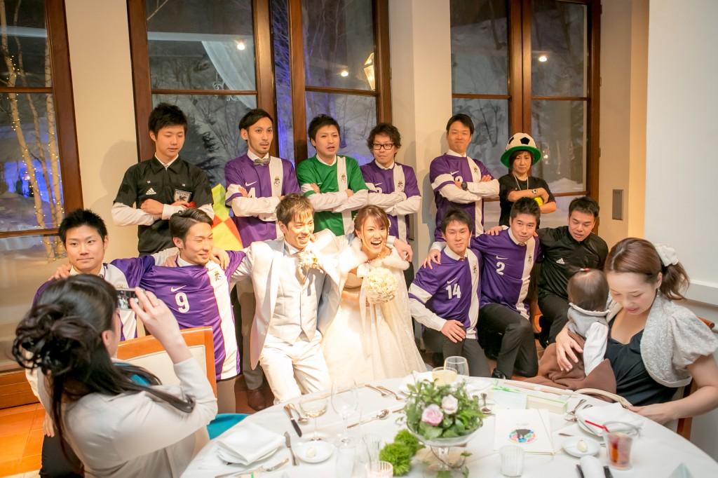 サッカーワールドなウエディングパーティ 〜 WORLDCUP IN SAPPORO〜