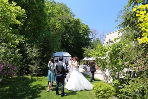 ガーデン結婚式|ジャルダン・ドゥ・ボヌール