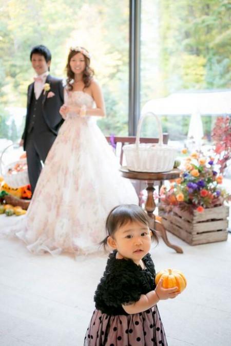 子供が楽しめる結婚式|ジャルダンドゥボヌール