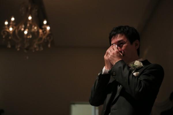 タキシード|新郎の涙