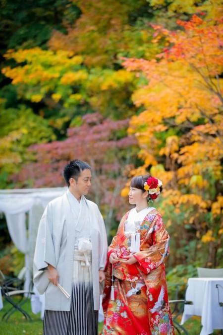 前撮り|着物|結婚式