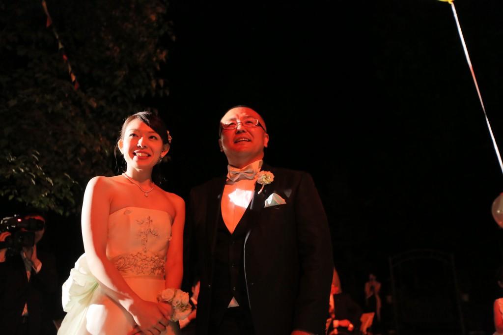 結婚式のテーマは「縁JOY!」