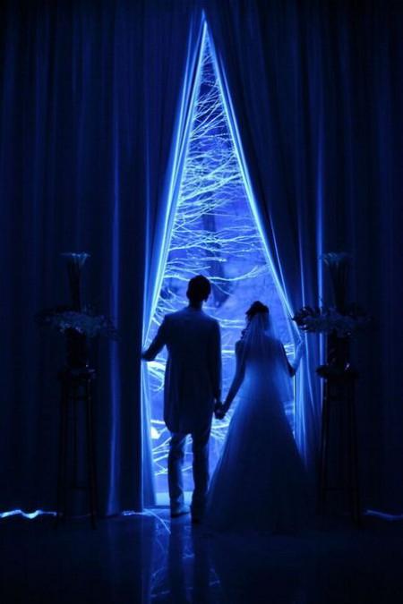 結婚式|冬|ジャルダンドゥボヌール