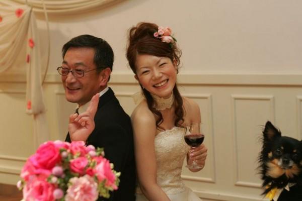両親|結婚式|ウェルカムドッグ