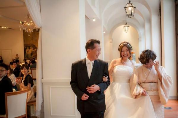 両親と花嫁