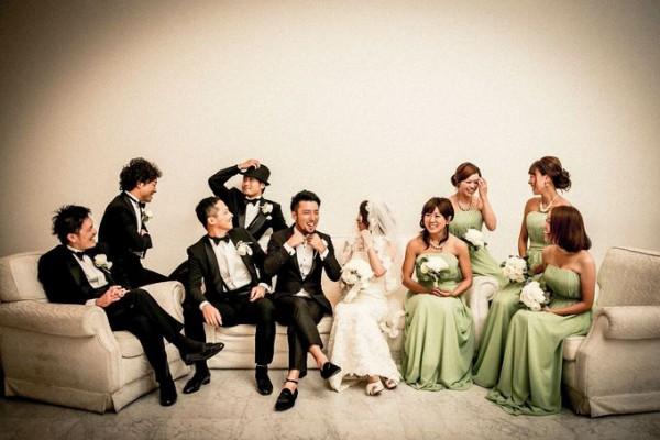 ブライズメイド|アッシャー|結婚式