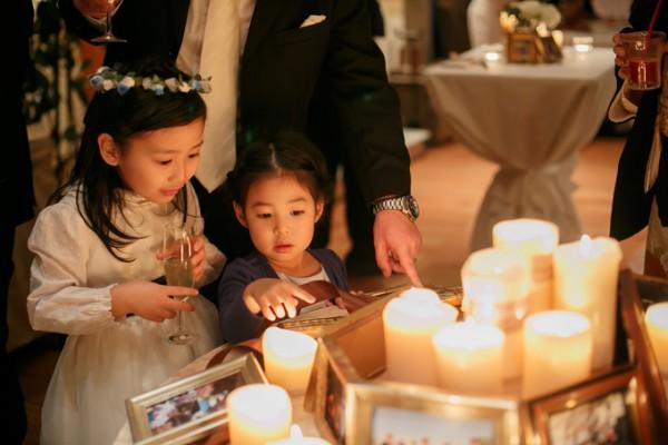 結婚式場|写真のディスプレイ