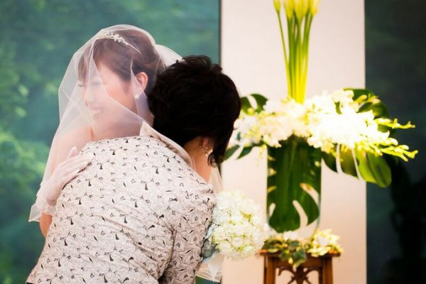結婚式での再会