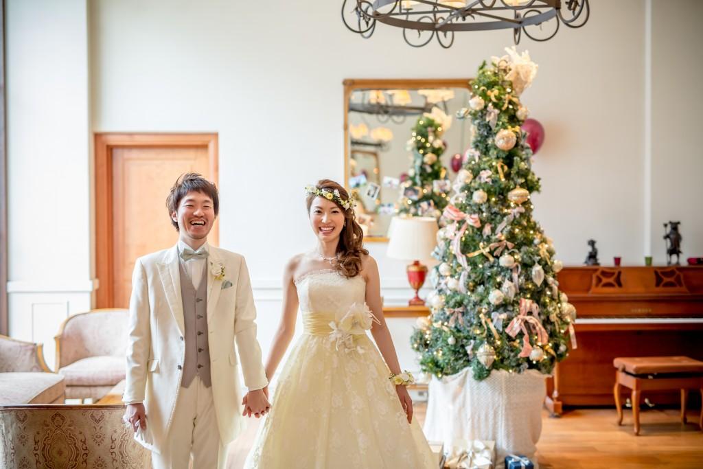 クリスマス×サッカー「大好き」をちりばめた結婚式