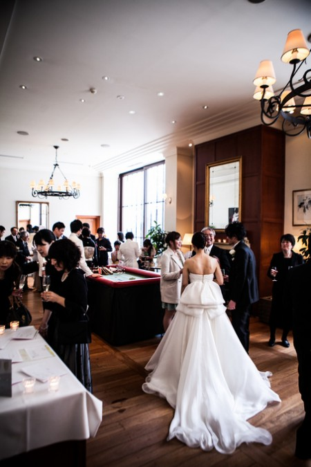 ウエルカムパーティ|結婚式当日
