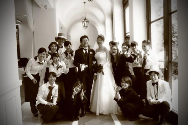 結婚式当日|集合写真