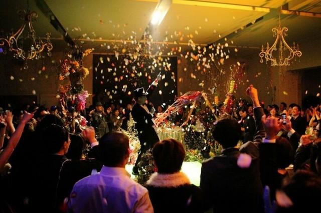 ラストシーン|ウエディングパーティ|ジャルダンドゥボヌール