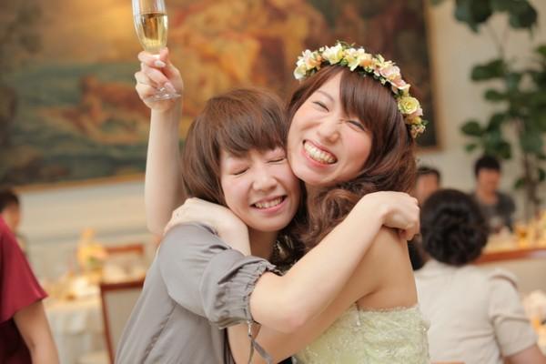 花嫁とゲスト
