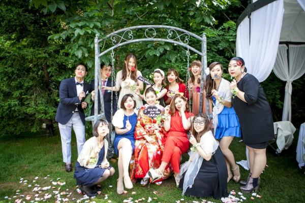 色打掛を着た花嫁