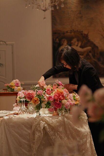 フラワーコーディネート|結婚式