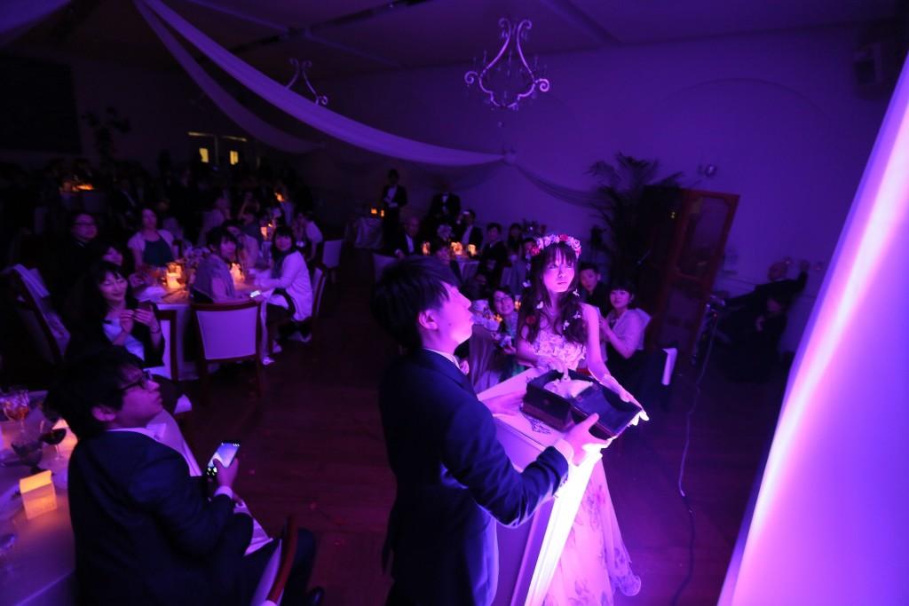 結婚式は夜空の中で ~魔法にかけられて~