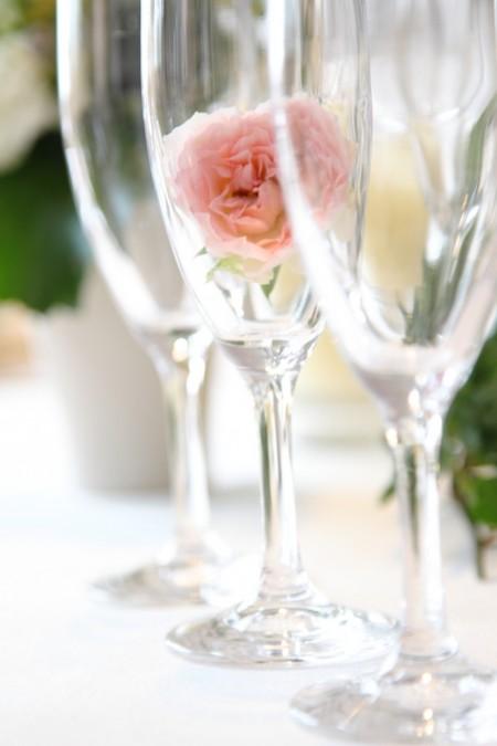 フルートグラス|結婚式のドリンク
