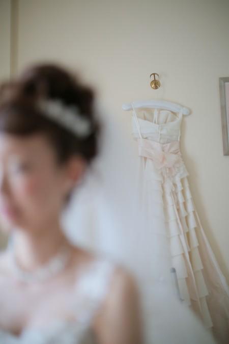 花嫁とドレス|ジャルダンドゥボヌール