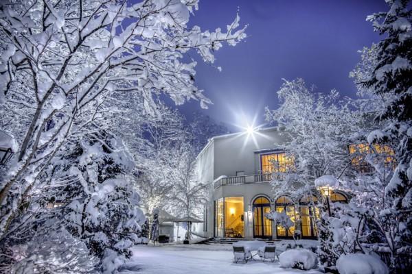 外観|ジャルダンドゥボヌール|冬の結婚式