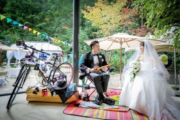 結婚式のディスプレイ|新郎新婦のお二人|ジャルダンドゥボヌール