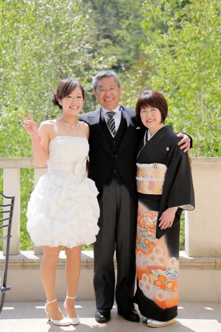 両親と花嫁|ジャルダンドゥボヌール