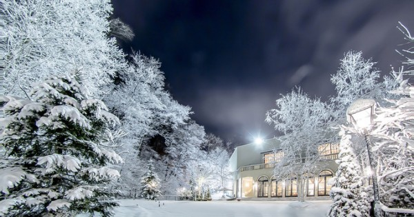 冬のジャルダンドゥボヌール
