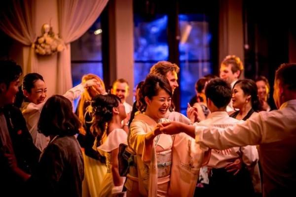 夜の結婚式|ウエディングパーティ|ジャルダンドゥボヌール