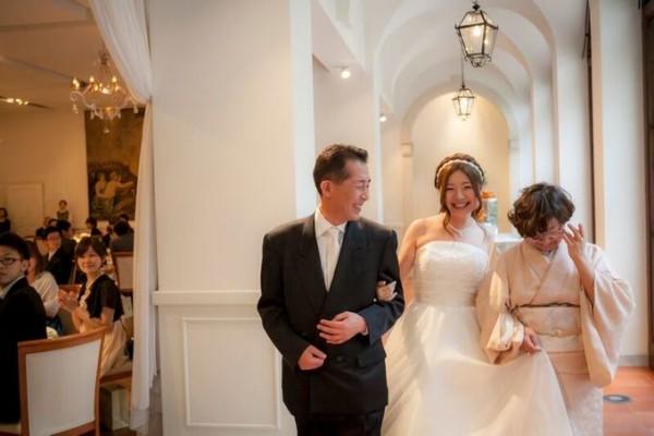 花嫁と家族