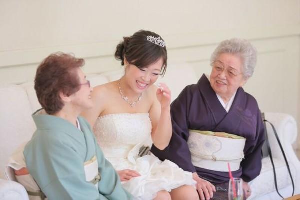 花嫁とご家族様|ジャルダンドゥボヌール