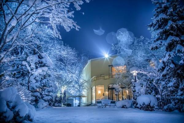 冬の外観|ジャルダンドゥボヌール
