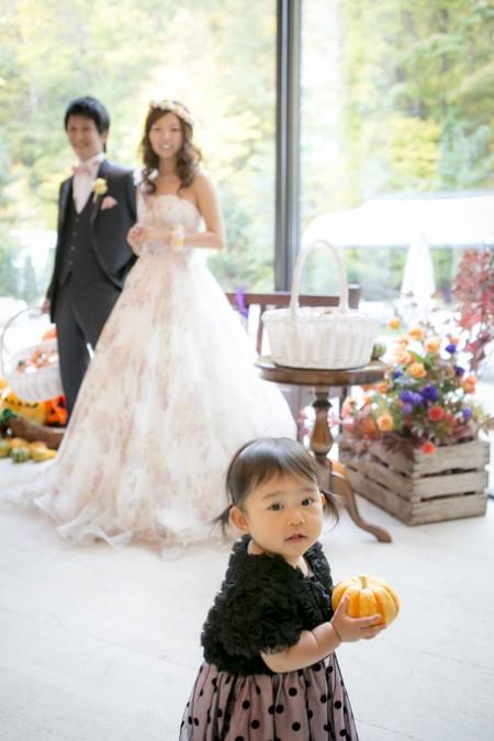 お子様|結婚式|ジャルダンドゥボヌール