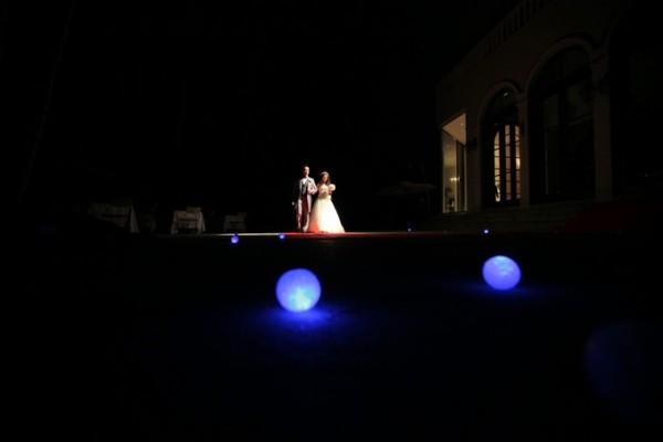 夜の結婚式|ジャルダンドゥボヌール