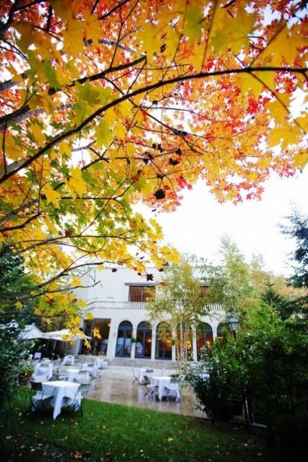 秋のガーデン|ジャルダンドゥボヌール