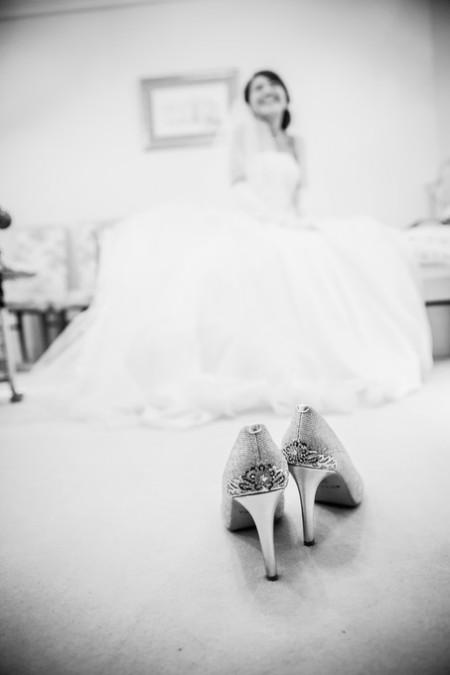 花嫁様と靴|ジャルダンドゥボヌール
