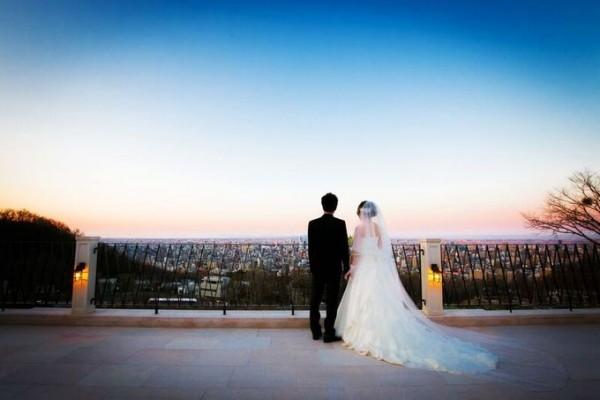 景色のいい結婚式場