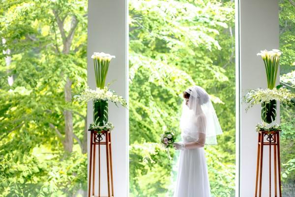 挙式前の花嫁様