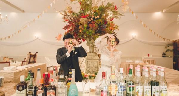結婚式のアイテム|インスタントカメラ