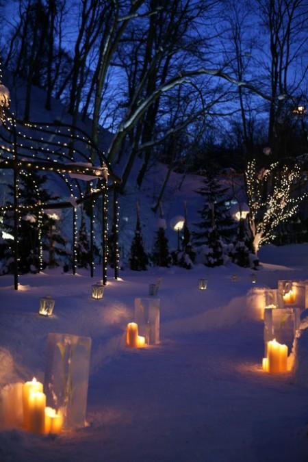 冬の結婚式|ガーデンウエディング|ジャルダンドゥボヌール