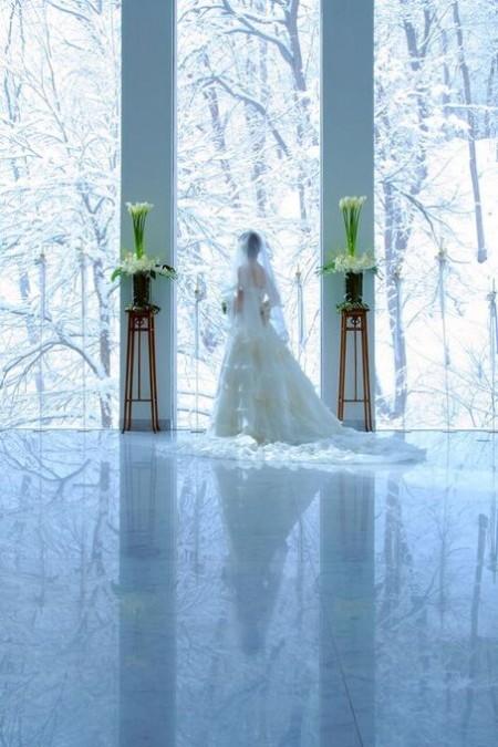 冬の花嫁様|ジャルダンドゥボヌール