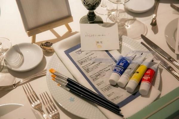 結婚式のテーブルセット|ジャルダンドゥボヌール