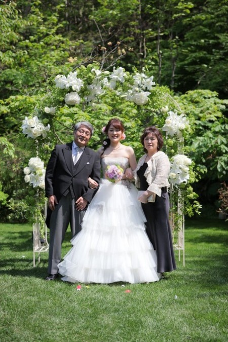 花嫁様とご両親様