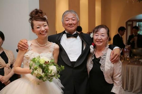 花嫁とご両親|ジャルダンドゥボヌール